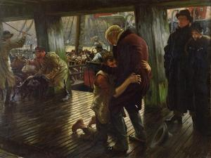 The Prodigal Son in Modern Life: the Return, 1880 by James Tissot