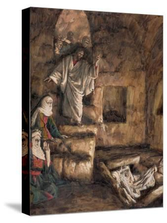 The Raising of Lazarus, Illustration for 'The Life of Christ', C.1886-94