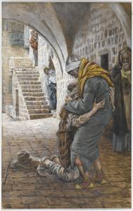 The Return of the Prodigal Son, Illustration for 'The Life of Christ', C.1886-96 by James Tissot