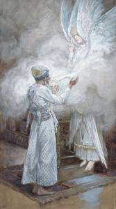 The Vision of Zacharias, Illustration for 'The Life of Christ', C.1886-94 by James Tissot