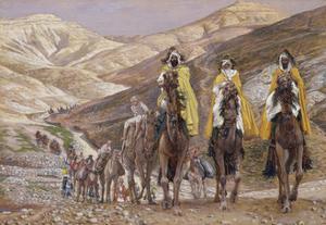 The Wise Men Journeying to Bethlehem, Illustration for 'The Life of Christ', C.1886-94 by James Tissot