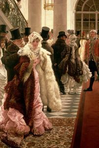 The Woman of Fashion (La Mondaine), 1883-5 by James Tissot