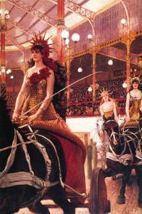 The Women In The Cars by James Tissot