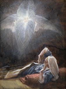 Vision of St. Joseph, Illustration for 'The Life of Christ', C.1886-94 by James Tissot