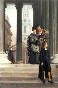 Visitors in London by James Tissot