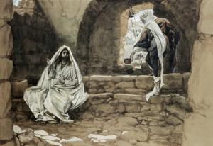 Woman of Samaria at the Well by James Tissot