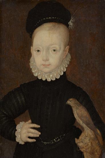James VI and I (1566-162), King of Scotland, as Child, 1574-Arnold Bronckhorst-Giclee Print