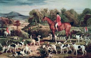 Ralph Lambton and His Hounds by James Ward