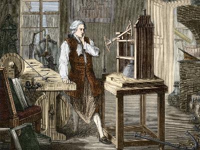 James Watt (1736-1819)--Photographic Print