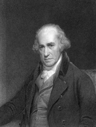 James Watt, Scottish Engineer and Inventor, 1833--Giclee Print
