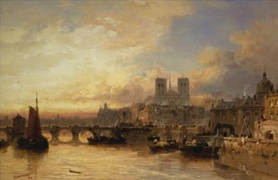 A View of Paris, France by James Webb