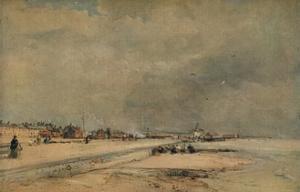 'Littlehampton, Winter', c1868 by James Webb
