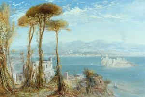 The Bay of Naples, 1876 by James Webb