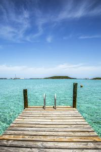 Dock , Staniel Cay, Exuma, Bahamas by James White