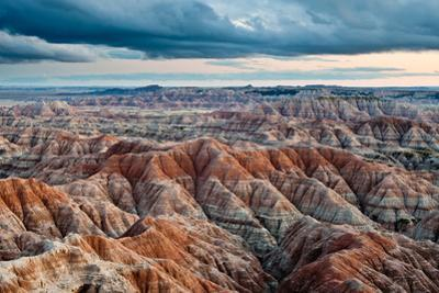 Sunset over Badlands National Park, Sd
