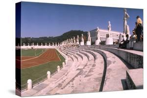 September 1, 1960: Shot of the Olympic Track and Field Stadium, 1960 Rome Summer Olympic Games by James Whitmore