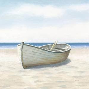 Beach Days I No Fence Flowers Crop by James Wiens