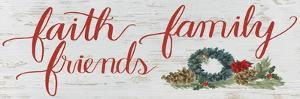 Christmas Holiday - Faith Family Friends v2 by James Wiens