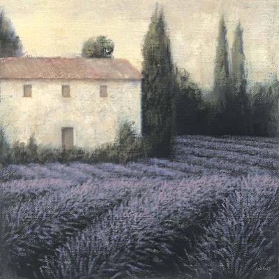 Lavender Field Detail by James Wiens