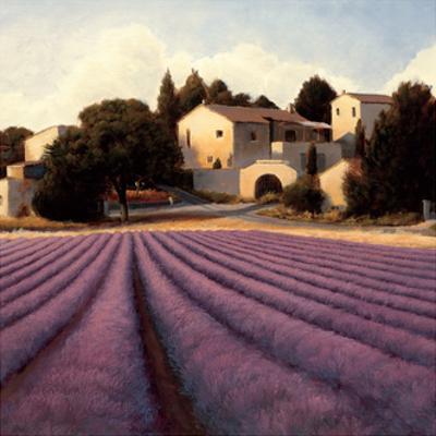Lavender Fields I Crop