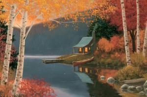 Quiet Evening I by James Wiens