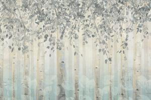 Silver and Gray Dream Forest I by James Wiens