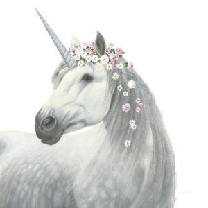 Spirit Unicorn II Square by James Wiens