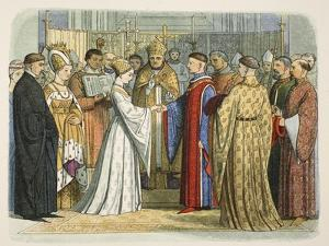 Marriage of Henry V and Katherine of France by James William Edmund Doyle