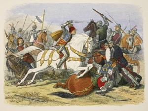 Richard III at Bosworth Field by James William Edmund Doyle