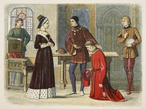 The Earl of Warwick Submits to Queen Margaret by James William Edmund Doyle