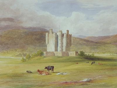 Braemar Castle, 1841