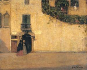 Campo San Giovanni Nuovo by James Wilson Morrice