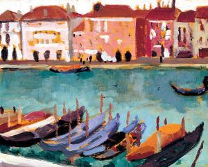 Gondoles a Venise by James Wilson Morrice