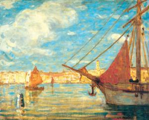 Port de Venise by James Wilson Morrice