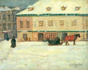 Winter Scene by James Wilson Morrice