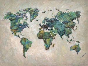 Wonderful World Map by James Zheng