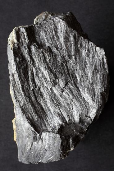 Jamesonite Mineral Sample-Dirk Wiersma-Photographic Print