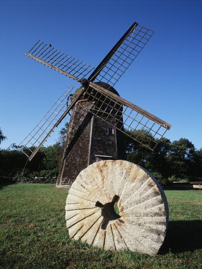 Jamestown Windmill, Conanicut Island, Rhode Island, USA-Walter Bibikow-Photographic Print