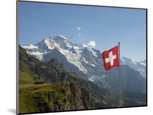 Switzerland, Bern Canton, Mannlichen, the Jungfrau by Jamie And Judy Wild
