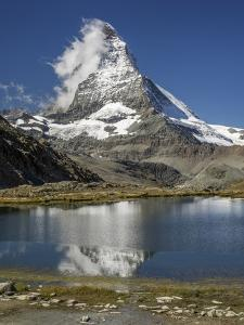Switzerland, Zermatt, Rotenboden, Riffelsee and Matterhorn by Jamie And Judy Wild