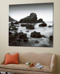 Ocean Rocks Muir Beach by Jamie Cook