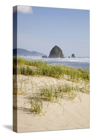 Cannon Beach and Haystack Rock, Oregon, USA