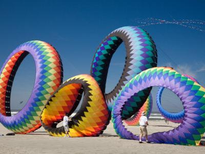 Circoflex Kites, International Kite Festival, Long Beach, Washington, USA