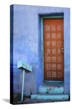 Colorful Doorway, Barrio Historico District,Tucson, Arizona, USA