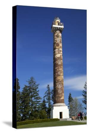 Coxcomb Hill; Built 1925, Astoria Column, Oregon, USA