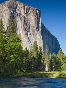 El Capitan and Merced River. Yosemite National Park, CA by Jamie & Judy Wild