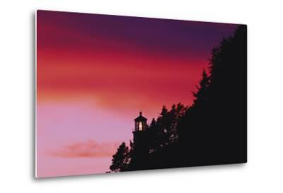 Florence, Devils Elbow State Park, Heceta Head Lighthouse at Sunset