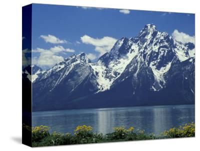 Mt. Moran from Jackson Lake, Grand Teton National Park, Wyoming, USA