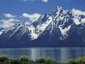 Mt. Moran from Jackson Lake, Grand Teton National Park, Wyoming, USA by Jamie & Judy Wild