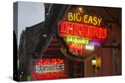 Neon Signs on Bourbon Street, French Quarter, New Orleans, Louisiana, USA